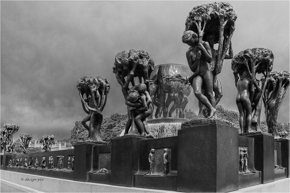Oslo - Skulpturenpark
